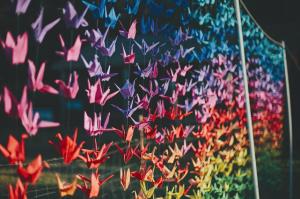 1,000 Wedding Cranes